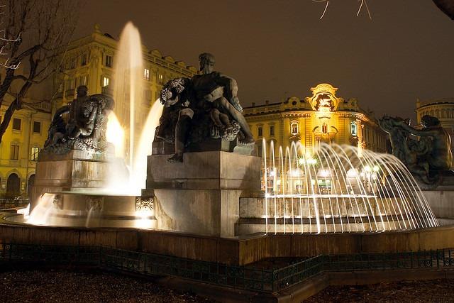 Torino-fontana-angelica-1 Torino città magica - I misteri di una città al centro della magia.