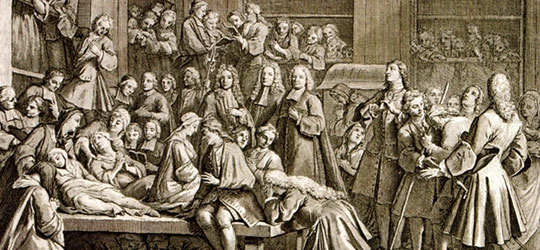 Convulsionarie-di-Saint-Medard I miracoli di Saint Medard
