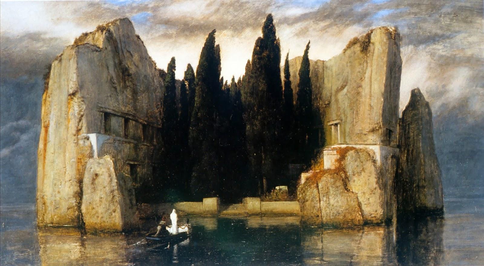 Isola-dei-Morti-III IL QUADRO DI HITLER CHE ISPIRO' LA PAZZIA