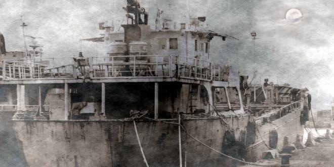Ghost-Ship-660x330 L'AFFONDAMENTO DELLA SS OURANG MEDAN