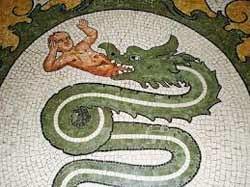 biscione Il lago Gerundo e la leggenda del drago Tarantasio a Milano